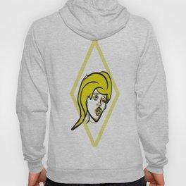 Yellow diamond pop art Hoody