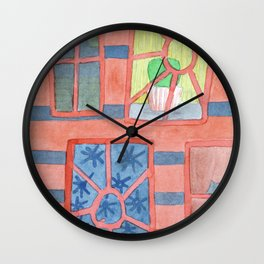 The Red House Wall Clock