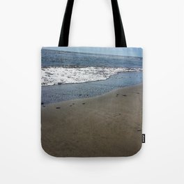 Black sand beach, El Salvador 2 Tote Bag