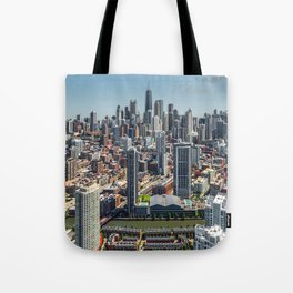 Beautiful Chicago Tote Bag