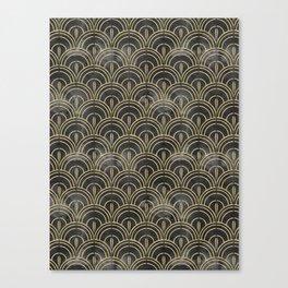 The Roaring Twenties Pattern Canvas Print