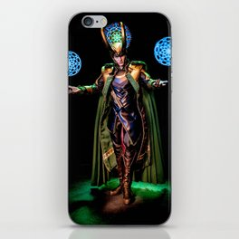 I've Seen Worlds You've Never Known About iPhone Skin