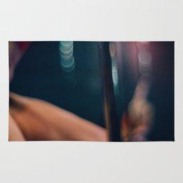 Pole Dancer Abstract Rug