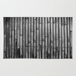 Kyoto Textures I: Split Bamboo Rug
