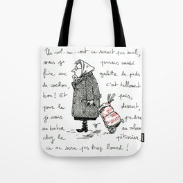 A Few Parisians: Marché de Passy by David Cessac Tote Bag