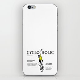 Cycloholic iPhone Skin