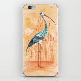 An Exotic Stork iPhone Skin