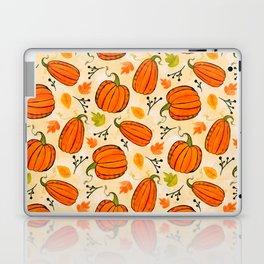 Pumpkins pattern I Laptop & iPad Skin