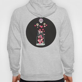 Sugar Skull Love Jar Hoody