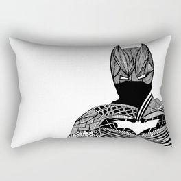 Knight of Night Rectangular Pillow