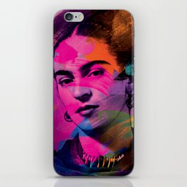 Frida Kahlo - Colors iPhone Skin