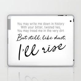 I'll rise #minimalism Laptop & iPad Skin