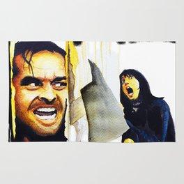 Jack Nicholson the Shining Halloween Vintage Rug