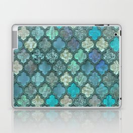 Moroccan Inspired Precious Tile Pattern Laptop & iPad Skin