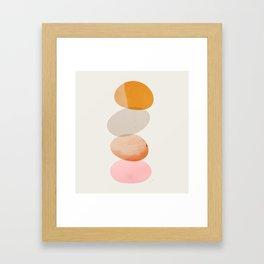 Abstraction_Balances_005 Framed Art Print