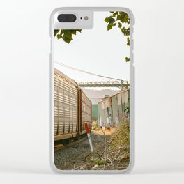 The long haul Clear iPhone Case