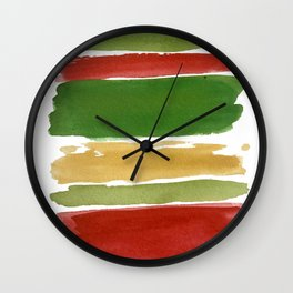 Christmas Colour Palette Wall Clock