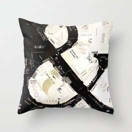 ampersand 01 Throw Pillow