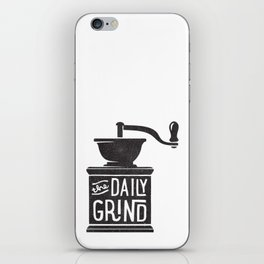 DAILY GRIND iPhone Skin