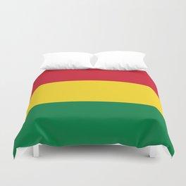Flag of bolivia-bolivian,spanish,america,south america,latin america,coffee,Santa cruz,Sucre,La paz Duvet Cover