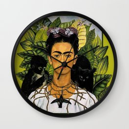 NECKLACE OF THORNS Wall Clock