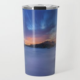 Sunset at the beach Travel Mug