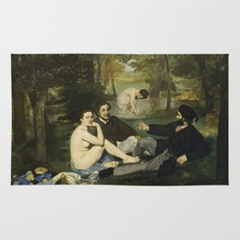 Edouard Manet - Luncheon On The Grass Rug