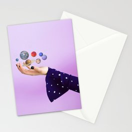 The Whole Universe is in the Palm of Your Hands Stationery Cards