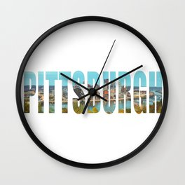 Pittsbugh Wall Clock