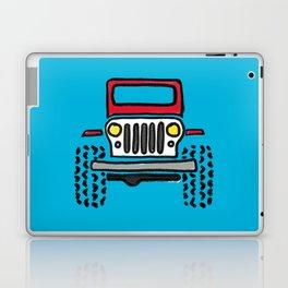 Jeep 'drawing' RED Laptop & iPad Skin