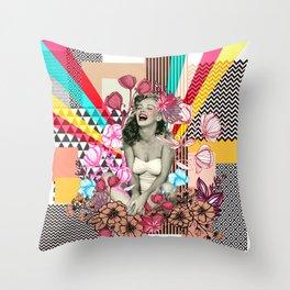 Diva Marilyn Throw Pillow