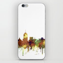 Fresno, California Skyline SG - Safari Buff iPhone Skin