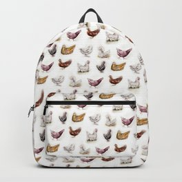Vintage Chickens Backpack