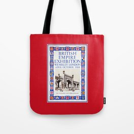 1924 British Empire Exhibition Wembley London Tote Bag