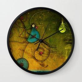 Lampbird Wall Clock