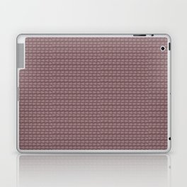Brown boho abstract modern geometric arrows Laptop & iPad Skin