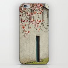 Lonely house iPhone & iPod Skin