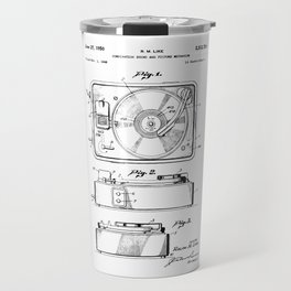 Turntable Patent Travel Mug