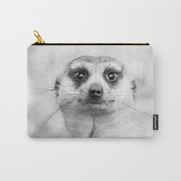 Meerkat portrait Carry-All Pouch