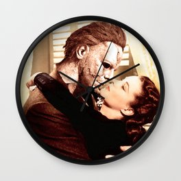 Michael Myers as Clark Gable Wall Clock