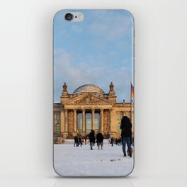 Snowy Reichstag, Berlin, iPhone Skin