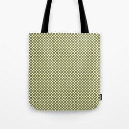 Woodbine and White Polka Dots Tote Bag