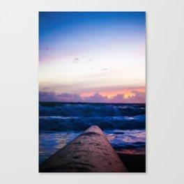 Ocean Pipe Canvas Print