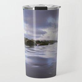 High Tide at Porth Beach Travel Mug