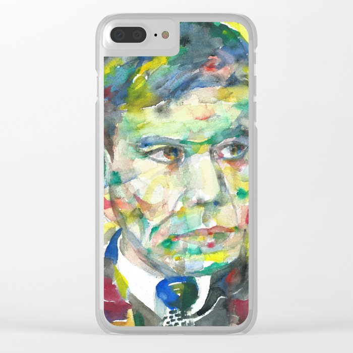 BORIS PASTERNAK - watercolor portrait.2 Clear iPhone Case