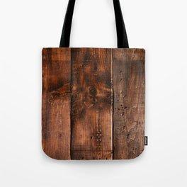 Natural Wood Boards Tote Bag