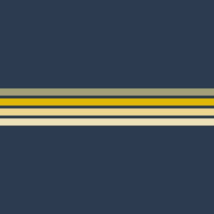 Racing Retro Stripes Duvet Cover