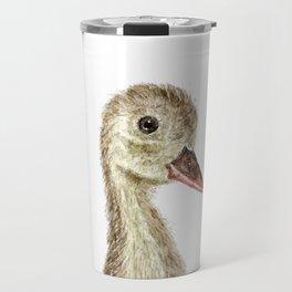 smiling little duck Travel Mug