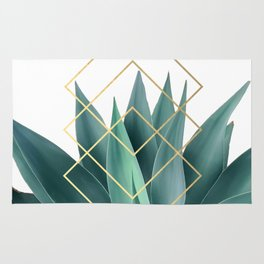 Agave geometrics Rug