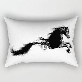 Fish bone horse - Mythological creature - Fantasy - Animal Rectangular Pillow